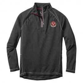 Tommy Bahama Harvard Firewall Core Charcoal 1/2 Zip Sweatshirt