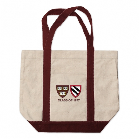 Harvard-Radcliffe Medium Tote Bag