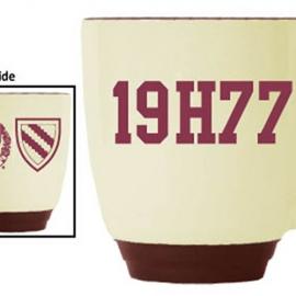 Harvard Maroon-Almond Bistro  Class of 1977 Mug