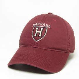 Harvard Athletic Shield Washed Twill Hat