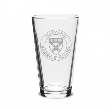 Harvard Business School 16 oz. Pint Glass