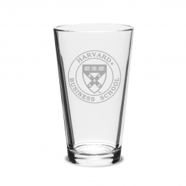 Harvard Business School (Set of 2) 16 oz. Pint Glass