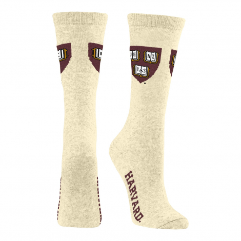 Harvard Women's Recycled Crew Sock