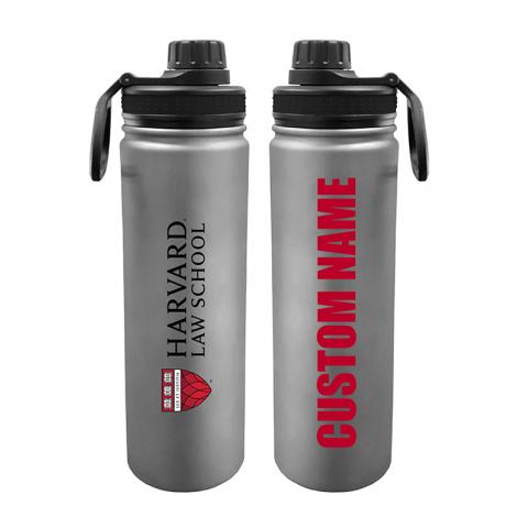 Personalized Harvard Law School Shield 24 oz. Stainless Steel Water Bottle