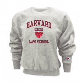 Harvard  Law School Champion Reverse Weave Heavyweight Crewneck Sweatshirt