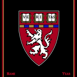 Harvard Medical School Custom Made Personalized Blanket