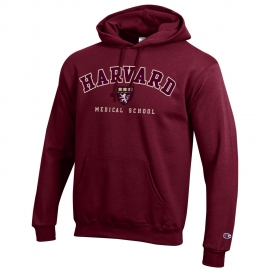 Harvard Medical Applique Seal Hooded Sweatshirt
