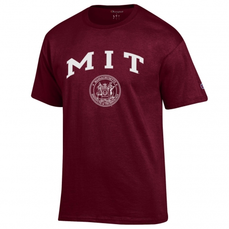 MIT Seal Champion Tee Shirt