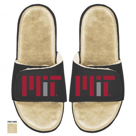 ISlide MIT Fur-lined Sandals