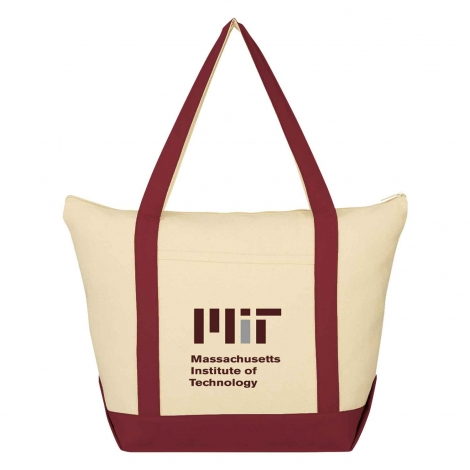 MIT Contemporary Medium Embroidered Tote Bag