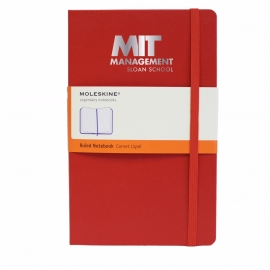MIT Sloan School of Management Moleskine Ruled Notebook