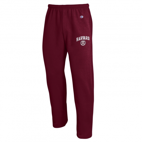 Harvard Champion Open Bottom Sweatpants