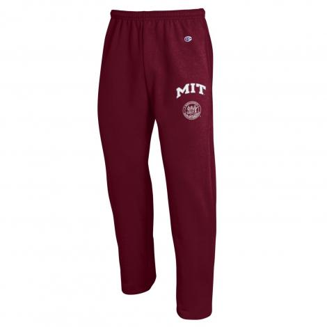 MIT Champion Open Bottom Sweatpants