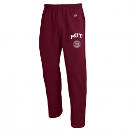 MIT Champion Open Bottom Sweatpants