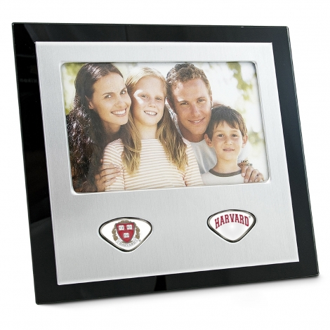 Harvard Picture Frame with Custom Medallions
