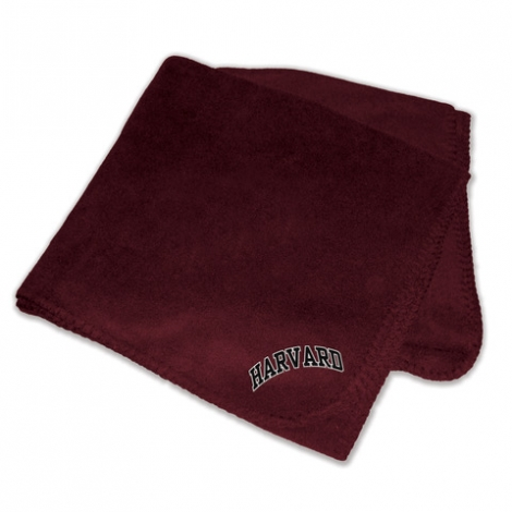Harvard Polar Fleece Blanket