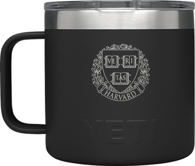Harvard YETI 14 oz Mug with Magslider Lid