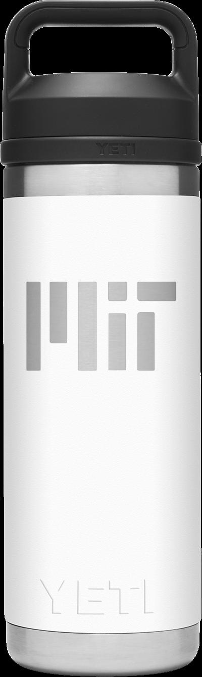 MIT YETI Rambler 18 oz Water Bottle with Chug Cap