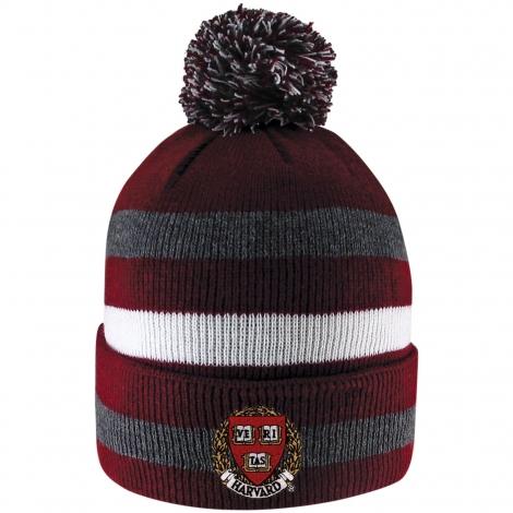 Harvard Primetime Pom Knit