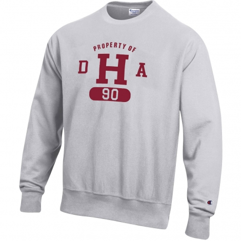 Class of 90 DHA Reverse Weave Harvard Crew Sweatshirt