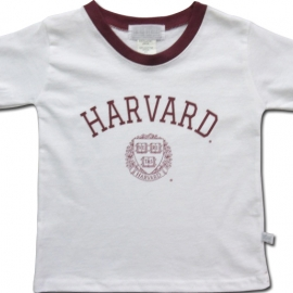 Harvard Youth Ringer Tee