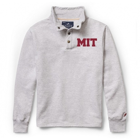 MIT League 1/4 Snap Brushed Fleece Pullover