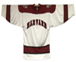 Adult White Hockey Replica Jersey