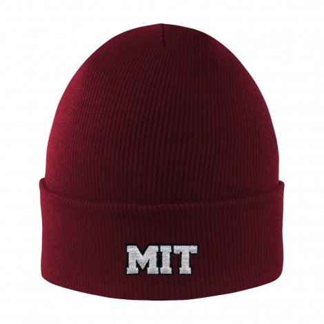 MIT Basic Knit Beanie With Cuff