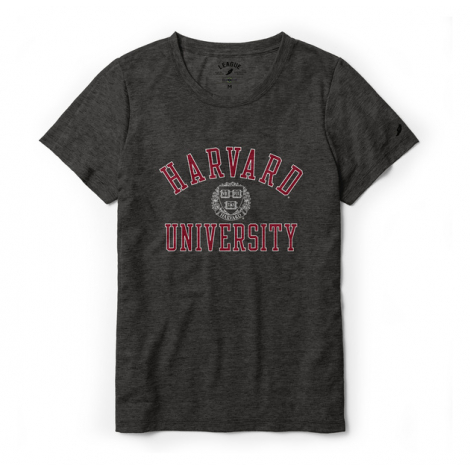 Harvard League Women's Short Sleeve Reclaim Tee Shirt