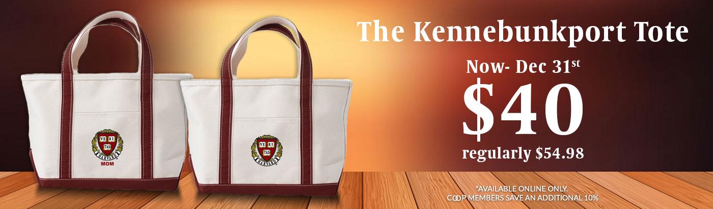 Harvard Kennebunkport Tote Bag