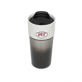 MIT Stainless Steel Tumbler with Custom Medallions