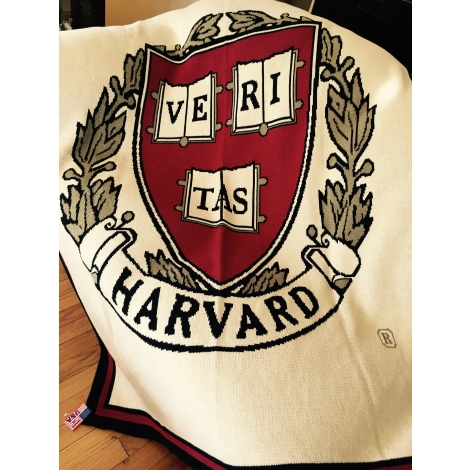 Harvard Custom Made Personalized Blanket