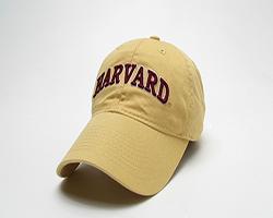 Harvard Women's Lemon Yellow Unstructured Hat