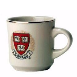 Ceramic Ivory Harvard Mug