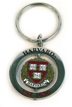Spinner Harvard Key Chain