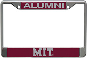 MIT Alumni License Plate Holder