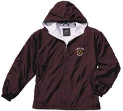Men's Maroon Portsmouth Harvard Full-Zip Jacket