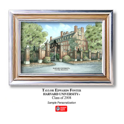 Harvard Large Color Print Picture
