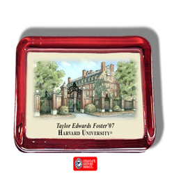 Harvard Color Print Paperweight