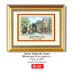 Harvard Color Print Mini Picture