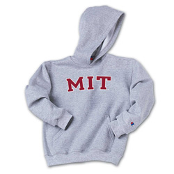 Youth MIT Hooded Grey Sweatshirt