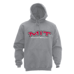 MIT Hooded Grey Football Sweatshirt