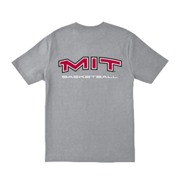 MIT Grey Basketball T Shirt