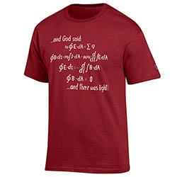 And God Said Maroon T Shirt
