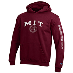 MIT Youth Hooded Sweatshirt w/ Seal