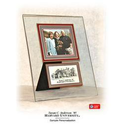 Harvard Glass Photo Frame