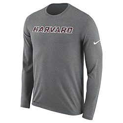 Nike Legend Grey Long Sleeve T Shirt