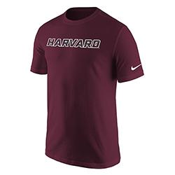 Nike Dri-Fit Maroon Harvard  Performance T Shirt