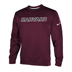 New! Nike Therma Fit Crew Maroon Fleece Sweatshirt