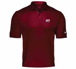Under Armour Perfomance MIT Maroon Polo